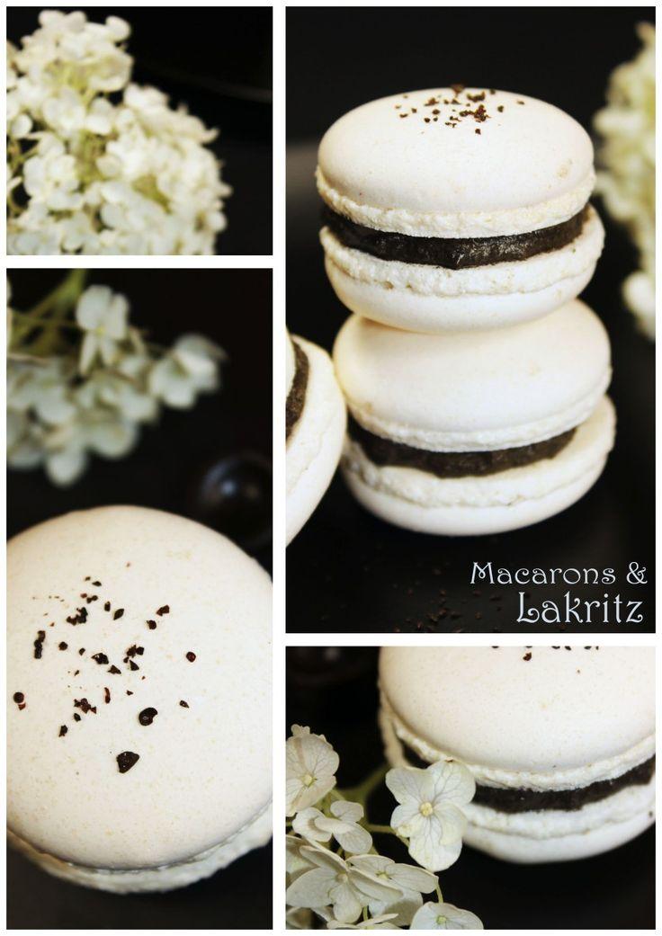 Folgt mir doch einfach mal auf die dunkle Seite – Macarons mit Lakritz