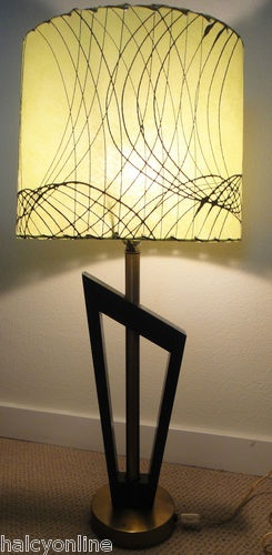 mid century l& & 184 best Atomic Age Lamps images on Pinterest | Lights Mid ... azcodes.com