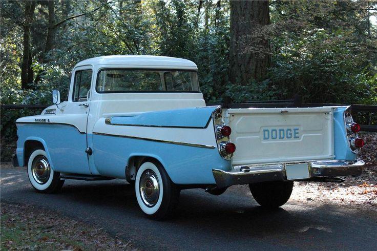 1958 dodge sweptside pickup barrettjackson auction