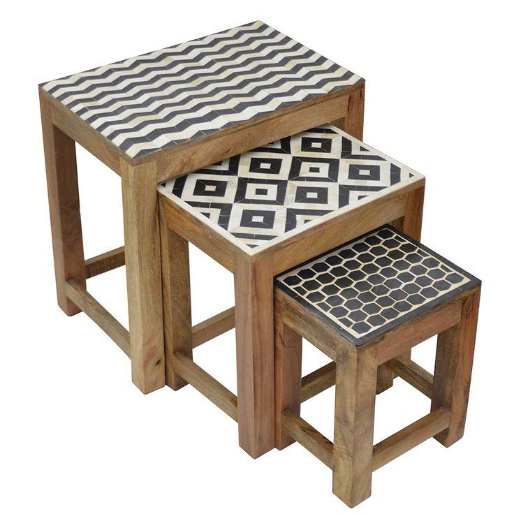 M s de 25 ideas incre bles sobre mesas nido en pinterest for Mesas ikea 5 euros