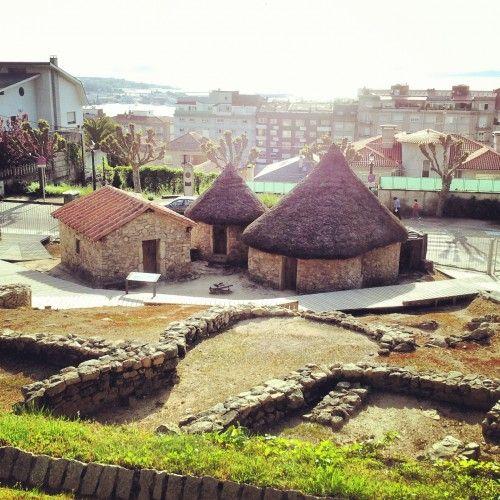 Poblado del Monte de O Castro de Vigo-galicia-spain-