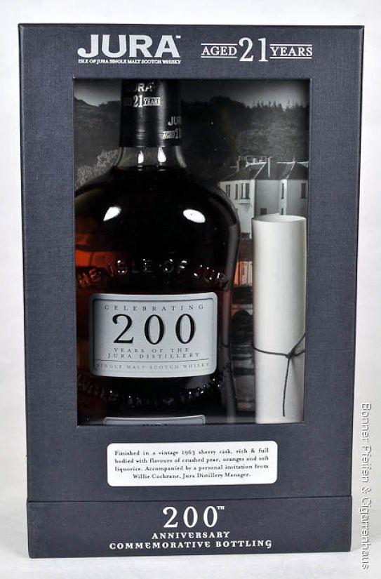 Isle of Jura Whisky 21 y.o.