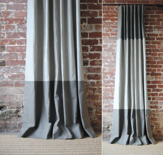 Q U A L I T Y    Our draperies are made with the highest quality possible using all high-end techniques in custom drapery construction. These are