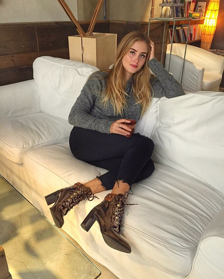 Valentina Ferragni in our Gigi Boot. #inourshoes