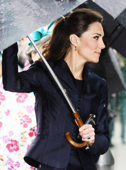 Kate Middleton in Prince William And Kate Middleton Visit Darwen