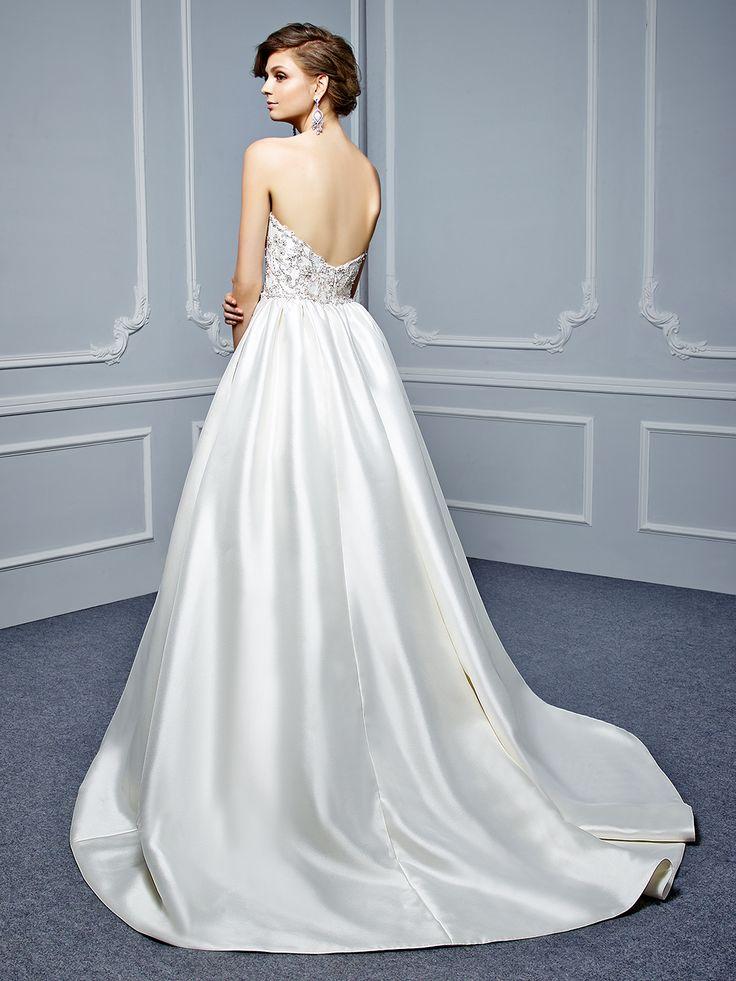 49 best Wedding Dress images on Pinterest | Bridal dresses, Short ...