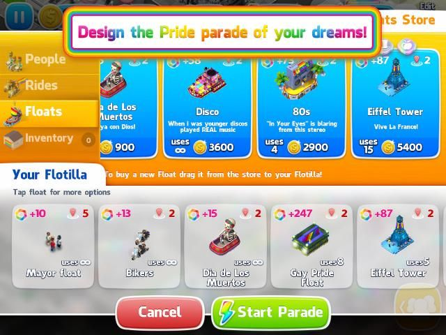 GayCalgary.com - Atari® Launches Pridefest™, Mobile Game Celebrating LGBTQ Equality Marches onto iOS and Android