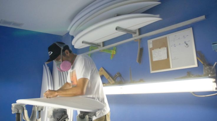 In the Shaping Bay with Marcio Zouvi - The man behind Sharp Eye Surfboards takes us on a tour of his San Diego factory