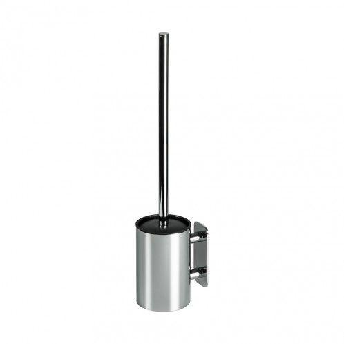 Solid Toalettborste Med Hållare - Borrfri Montering - Krom - Beslag Design #Allabeslag #BeslagDesign #borrfri #badrum