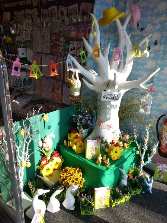 63 best hobbycraft twig tree images on pinterest twig tree hobbycraft giant white tree decorated for easter celebration decorations party easter negle Choice Image