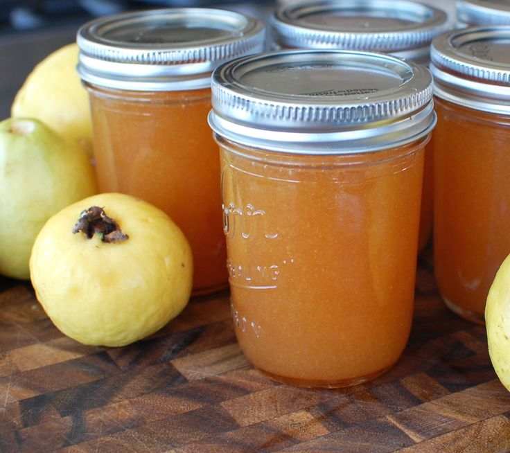 Homemade Guava Jam recipe... with instructions to water bath can the jars