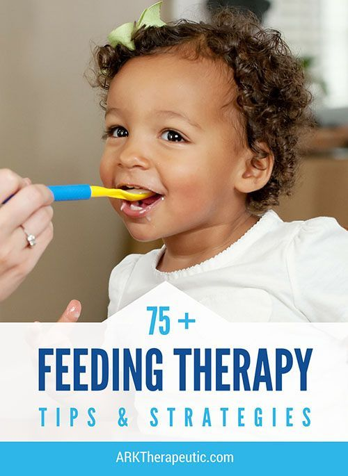 ARK Therapeutic: 75+ Feeding Therapy Tips & Strategies. Pinned by SOS Inc. Resources. Follow all our boards at pinterest.com/sostherapy/ for therapy resources.