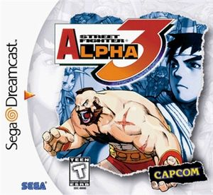 Complete Street Fighter Alpha 3 - Dreamcast Game