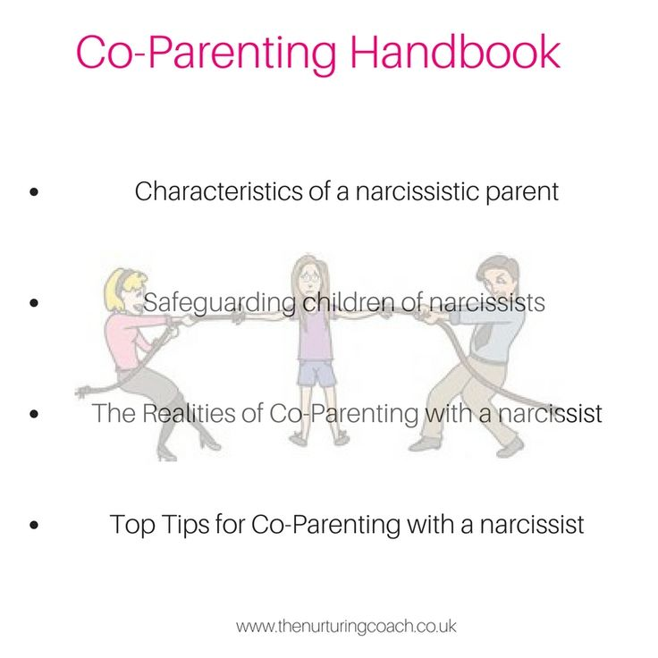 Grab your FREE copy of the co-parenting handbook http://bit.ly/coparentwithnarc