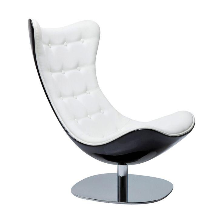 Snurrfåtölj Atrio Art är en läcker designfåtölj för modern miljö i hem och på kontor. Skön, avslappnad sittkomfort med stramt formspråk.  Material: fot: kr...