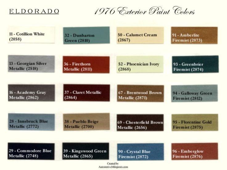 36 Best Images About 76 Cadillac Eldorado On Pinterest