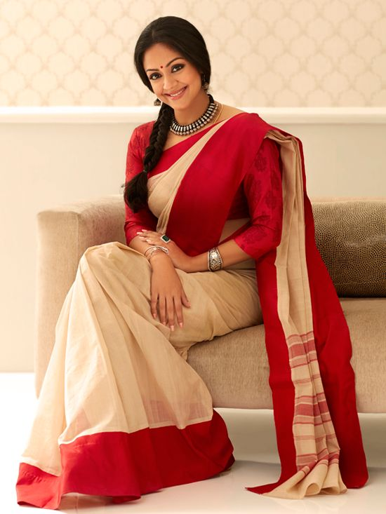 Jyothika Latest Photoshoot Stills, Veteran Actress Jyothika Suriya glamorous photoshoot images, Jyothika photoshoot in Saree, Herione Jyoth...