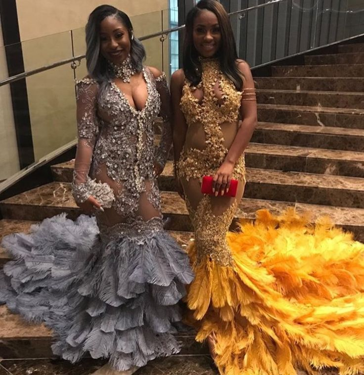 Yellow Feather Prom Dressprom Dressesdressesss