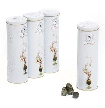 Teapot Balls (16) Floral Sampler Tin (4 Varieties)