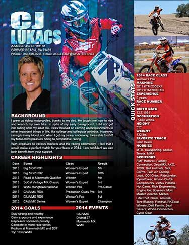 motocross resumes - Kubre.euforic.co