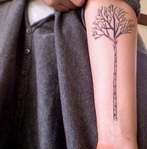what's more scandinavian than a birch tree? love!