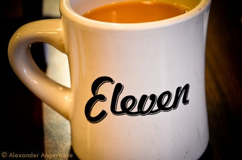 Morning Coffee. At Eleven City Diner in downtown Chicago. Great place for breakfast, lunch and dinner! Try the corn beef hash!!!  ~ Chicago, Illinois