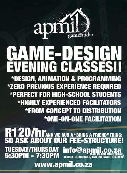 game design evening classes