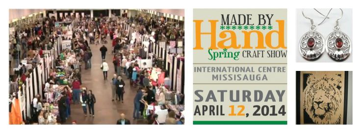 We would love for you to share it with your friends and join us at the Spring #madebyhandshow April 12 The International Centre