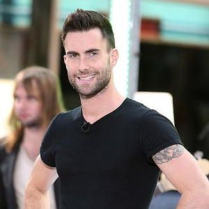 Adam Levine. One of the few who can pull off tattoos!