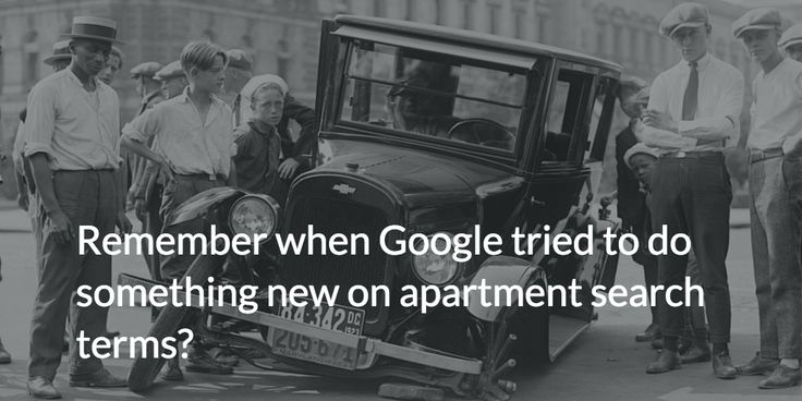 Google appears to be trying to make some changes to local apartment SEO, but it isn't going well so far.