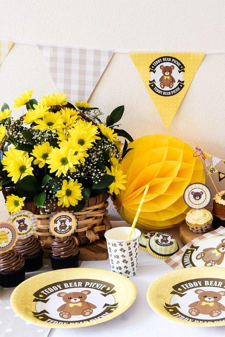 Teddy Bear Picnic party collection by Hunters Rose