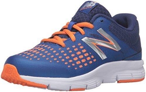 New Balance Running Shoe, Blue/Orange, 6.5 M