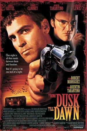 From Dusk To Dawn George Clooney and Quentin Tarantino Poster, 61cm x 91.5cm