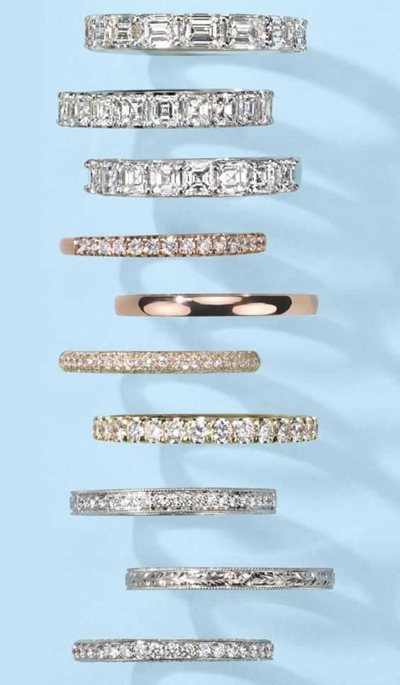 Spring is wedding fever time !!! so look at the latest wedding band trends for ladies ...www.franco.com.au email franco@franco.com.au for your FREE quote to make your #weddingband
