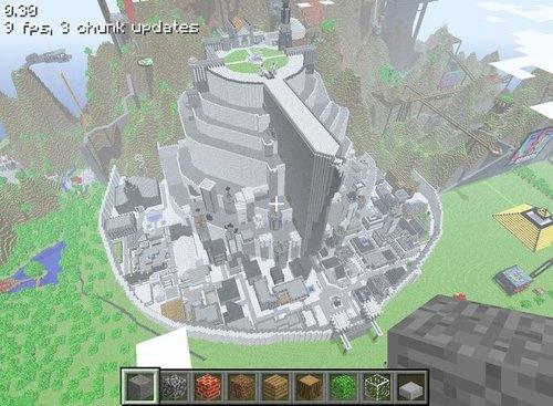 Minas Tirith - Capital of Gondor Minecraft Project