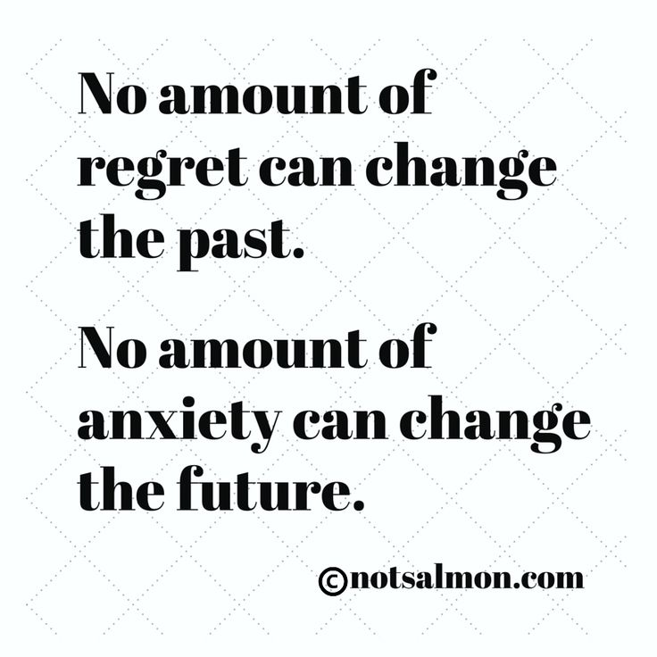 Motivational Quotes For Depression Sufferers: No Amount Of Regret Can Change The Past. No Amount Of