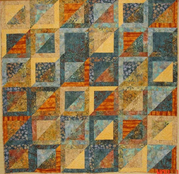 11 best King size quilt ideas images on Pinterest | Batik quilts ... : quilt colors schemes - Adamdwight.com
