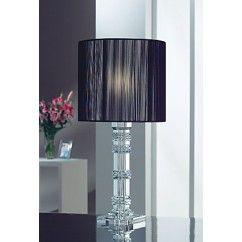 """Galway Crystal - Majestic Lamp 23.5"""" and Free Shade. €99.00"""