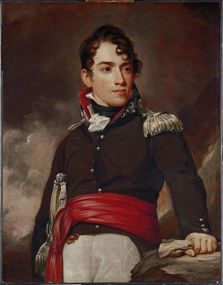 Thomas Sully, Portrait of Captain Jean Terford David, 1813