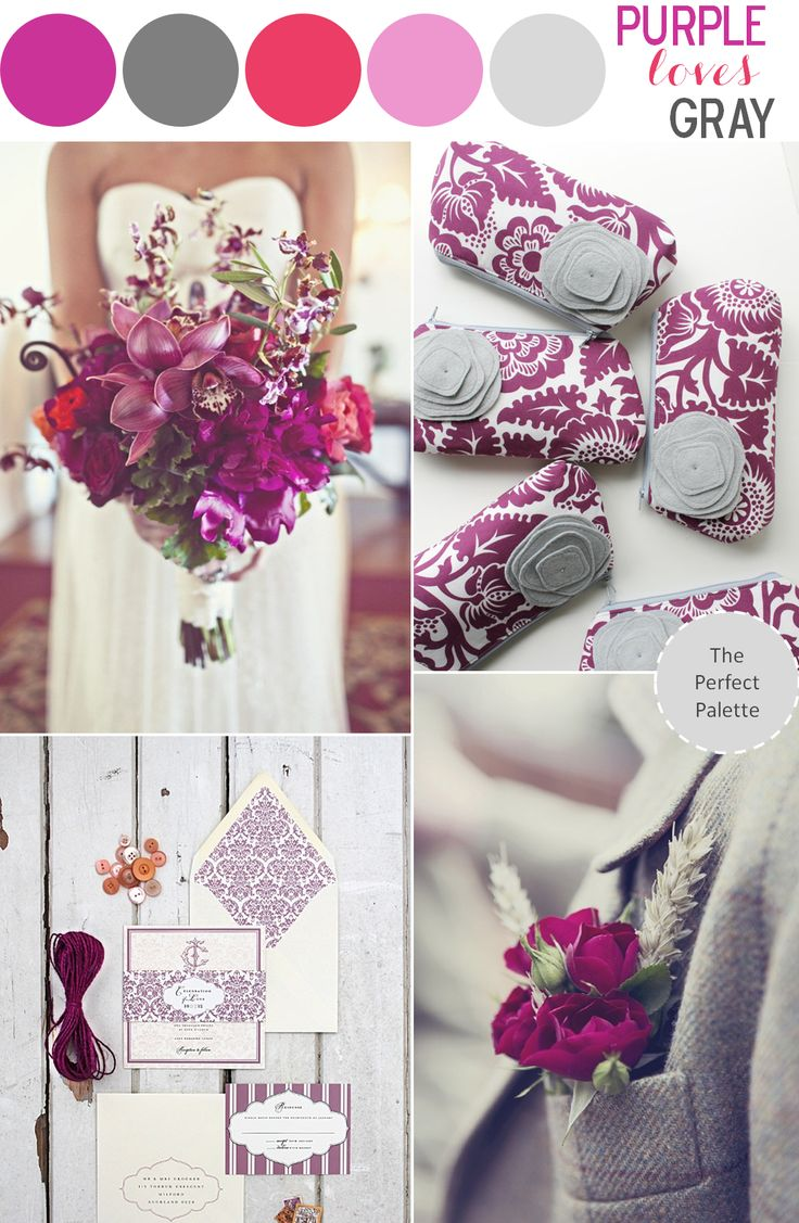 The Perfect Palette: Color Story | Purple Loves Gray!