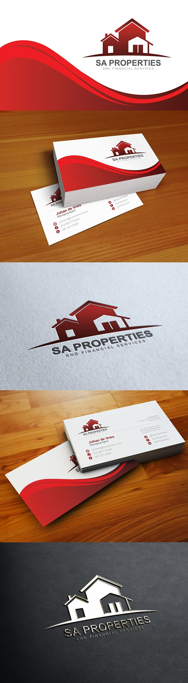 SA Properties and Financial Services | Branding on Behance