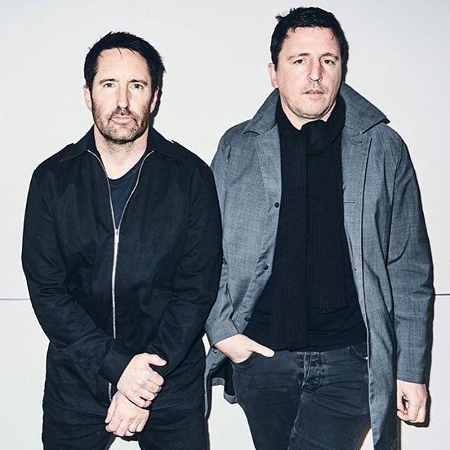 Trent Reznor & Atticus Ross 2016 https://www.instagram.com/p/BOV4-UuA7vR/?taken-by=applemusic