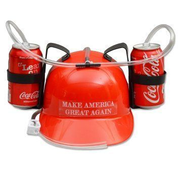 Donald Trump - Make America Great Again - Drinking Hat  The best gag gifts for 2017 are the ones your friends and family will remember.   Most people appreciate a good practical joke and these will give you some great gag gift ideas for Christmas 2017.  There are practical joke ideas for both men and women.   You will definitely make them laugh out loud at your funny gift as they will appreciate a good joke and laugh.  Go ahead and indulge their humor