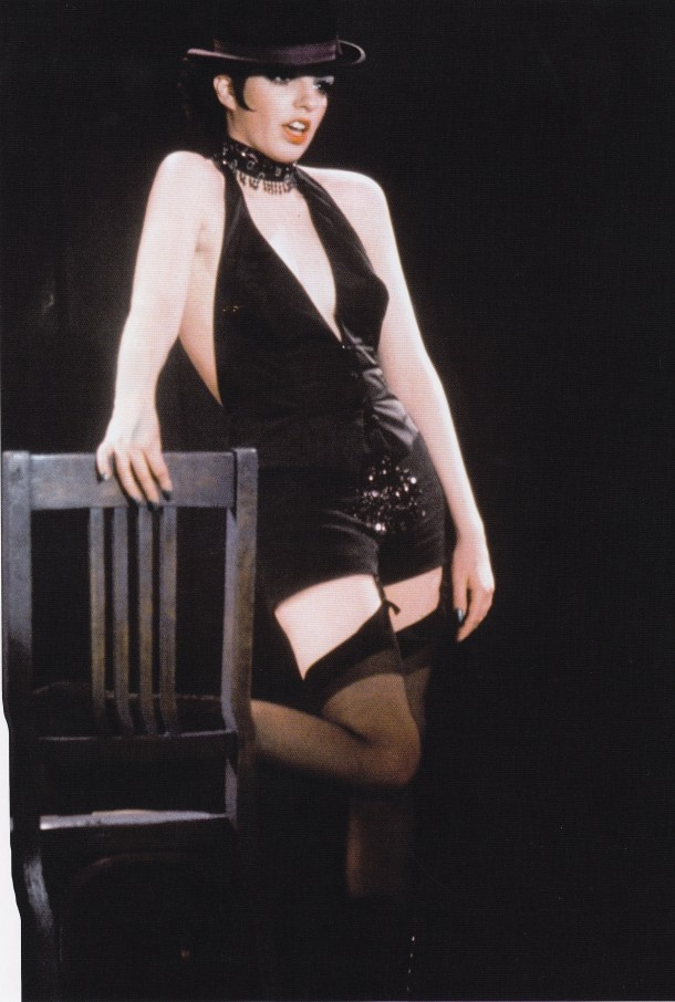 "Liza Minnelli as American cabaret singer Sally Bowles during the rise of the Nazi party and the collapse of the Welmar Republic in Bob Fosse's ""Cabaret"" 1966"