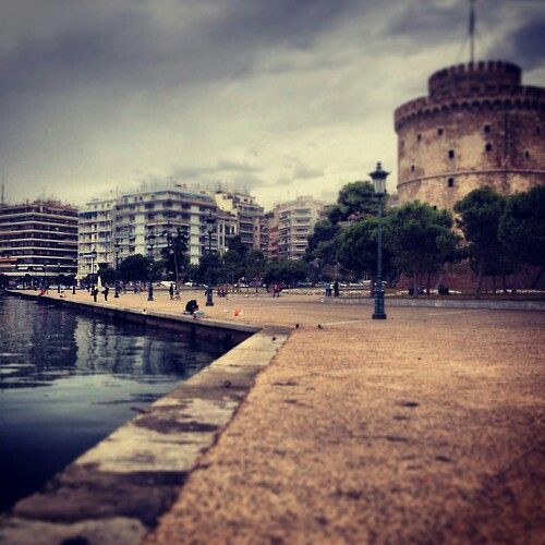 The White tower! The emblem of Thessaloniki!