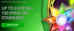 http://www.ukcasinolist.co.uk/casino-promos-and-bonuses/casino-luck-e150-150-spins-starburst-22/