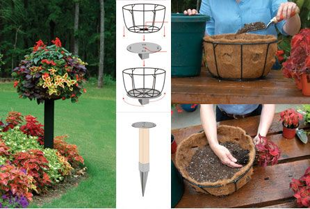 Pamela Crawford's Side Planting Container Gardens I do this, and the results are spectacular ~ jan