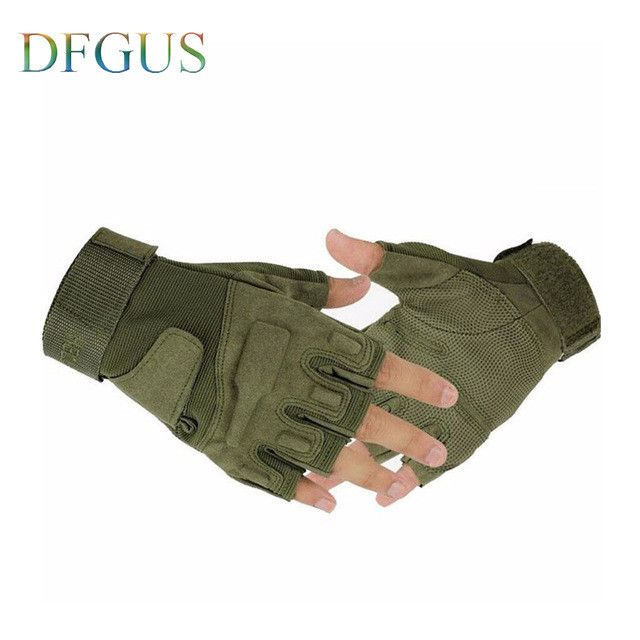 2017 blackhawk hell storm usa special forces tactical gloves slip outdoor Men fighting fingerless gloves Gym Gloves Mitten PC003