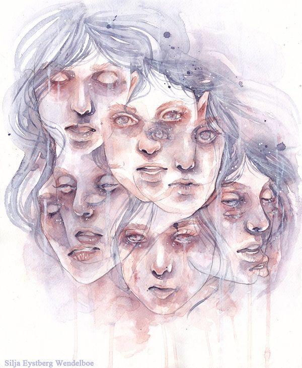 Dissociative identity disorder by SiljaVich.deviantart.com on @deviantART