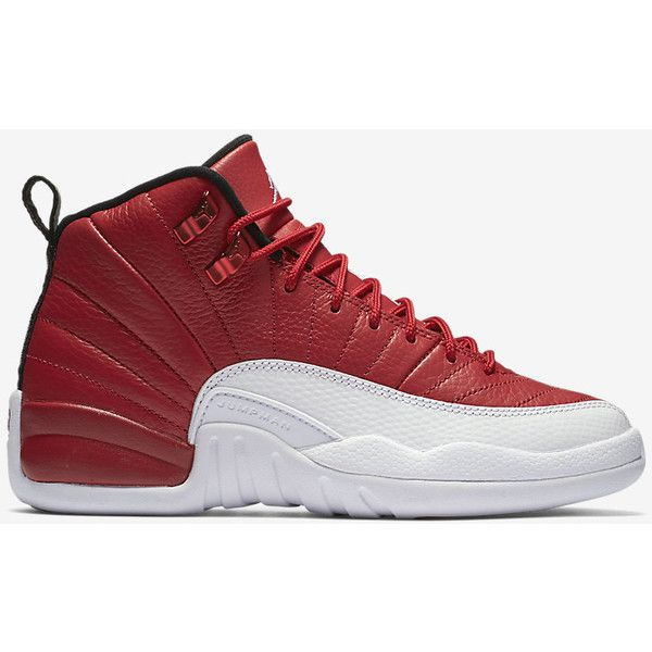 f3e97e9906af Air Jordan Retro 12 (3.5y-7y) Big Kids  Shoe . Nike.com ( 140) ❤ liked on  Polyvore featuring sneakers